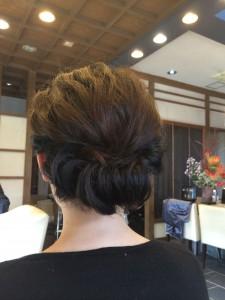 ギブソンタック 結婚式 土浦市 美容室 ヘアセット