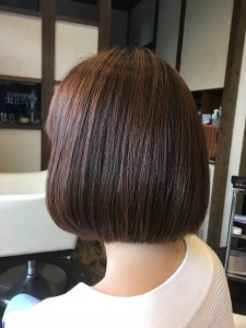 ショートボブ 美容室 土浦市 りずむヘアデザイン