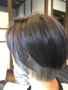 インナーカラー ブリーチ ダブルカラー 美容室 土浦市 りずむヘアデザイン