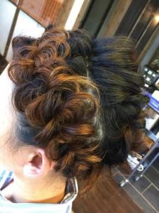 編み込み カチューシャ 美容室 土浦市 りずむヘアデザイン