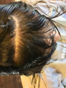 前髪のクセ 縮毛矯正 ノンシリコーン 美容室 土浦市 りずむヘアデザイン