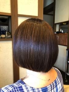 ボブ スタイリング剤 デリートフォーム ツヤッツヤの髪の毛  土浦市 美容室 りずむヘアデザイン