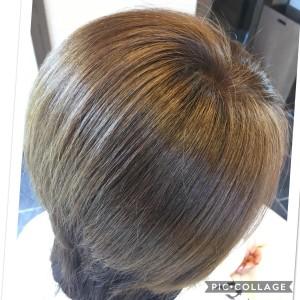 縮毛矯正 失敗 根元折れた トラブル 美容室 治し方 土浦市 りずむヘアデザイン