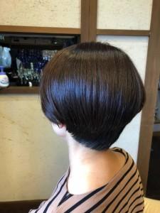 ショートボブ ショート 美容室 土浦市 りずむヘアデザイン