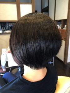 レイヤーボブ りずむヘアデザイン 最低限ノンシリコーン シリコン病 土浦市 美容室