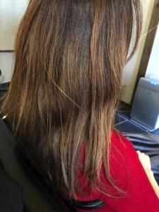 アイロンのダメージ 髪の毛が広がる 治し方 ノンシリコン酸熱トリートメント 美容室 土浦市 りずむヘアデザイン
