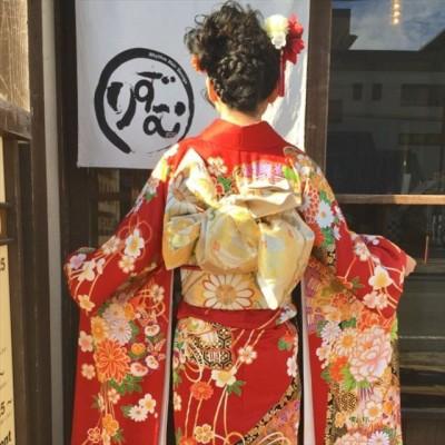 着付け 成人式 土浦市 美容室 りずむヘアデザイン