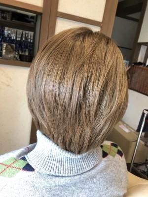 ラベンダーアッシュ 色持ちが良い ヘアカラー 昭和の美容法 美容室 りずむヘアデザイン
