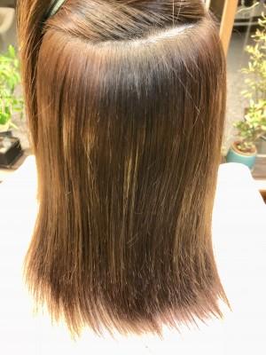 ヘアカラーの修正 塗りムラ ネモカン ハイライト 治し方 りずむヘアデザイン 土浦市 美容室