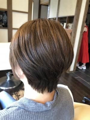 ショートボブ 土浦市 美容室 りずむヘアデザイン