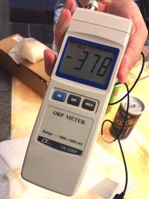 酸化還元電位 還元美容 epトランスパウダー りずむヘアデザイン 美容室 土浦市 orp計測器 ORP