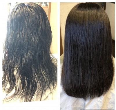 縮毛矯正 自然なストレート 最低限ノンシリコーン 土浦市 美容室 りずむヘアデザイン