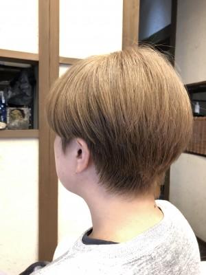 ミルクティーベージュ 美容室 土浦市 りずむヘアデザイン