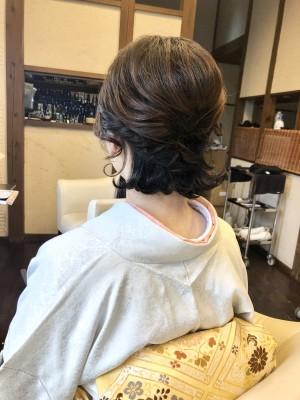 結婚式 成人式 卒業式 着物 着付け ヘアメイク 美容室 土浦市 りずむヘアデザイン