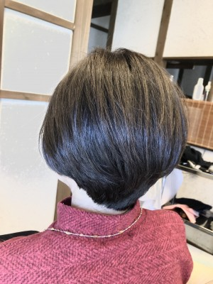 グラボブ 前下がりグラデーションボブ 美容室 土浦市 りずむヘアデザイン 30代 40代 50代 60代 70代 80代