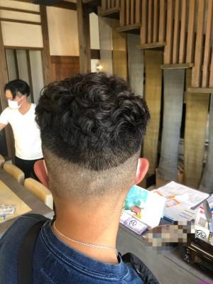 フェードカット+パーマ 土浦市 美容室 りずむヘアデザイン