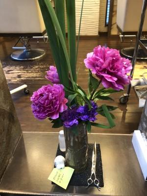 生花 りずむヘアデザイン 草月流 土浦市 美容室