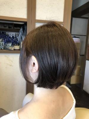 ショートヘア ショートボブ 土浦市 美容室 りずむヘアデザイン