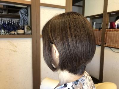 森星 ショートヘア 土浦市 美容室 りずむヘアデザイン 絶壁 鉢はり ショートカット ドライカット 髪の毛のクレンジング