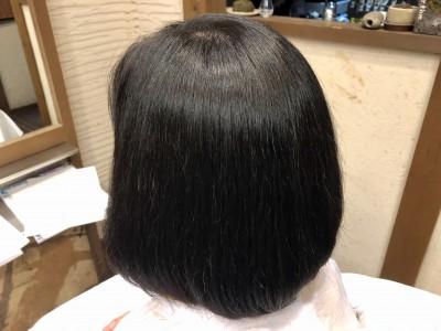 丸みボブ ハイライト ボブ グラデーションボブ ブリーチ ヘアカラー 美容室 土浦市 りずむヘアデザイン