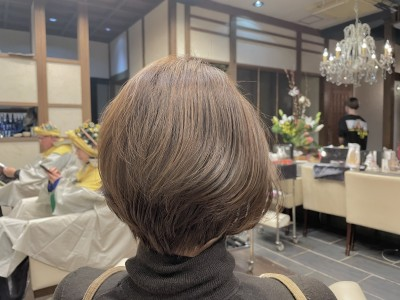 #ショートボブ #ショートヘア #土浦市 #美容室 #りずむヘアデザイン #ハイライト #ヘアカラー #土浦市 #美容室