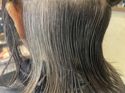 耳の後ろに白髪が多い 柔軟剤 柔軟剤病 最低限ノンシリコーン 還元美容 土浦市 美容室 りずむヘアデザイン 美養師 美養院