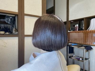 ボブ グラボブ 重めボブ 土浦市 美容室 りずむヘアデザイン 美養院