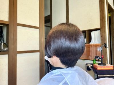 ショートボブ ノンシリコーン 美容室 土浦市 りずむヘアデザイン 最低限ノンシリコーン