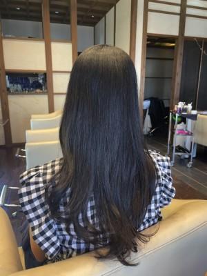 ロングヘア 痛まない 髪と地肌のクレンジング ノンシリコーン ヘアビューロン 土浦市 美容室 りずむヘアデザイン