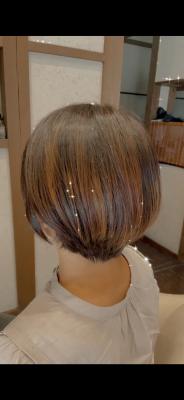 ショートボブ 丸みボブ 還元美容 最低限ノンシリコーン 土浦市 美容室 りずむヘアデザイン